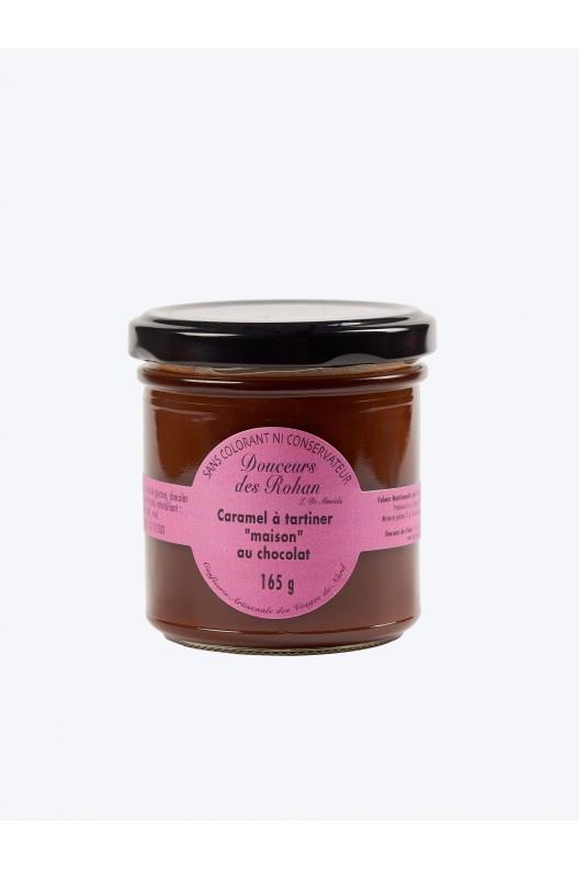 "caramel à tartiner "" maison"" chocolat 165g"