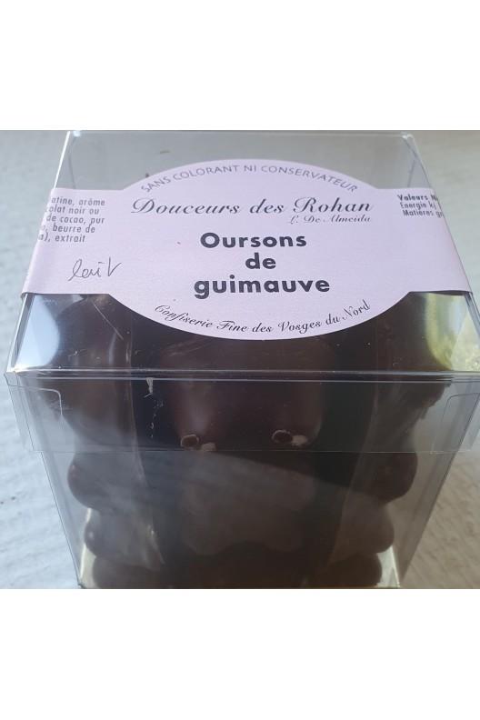 """oursons de guimauve """"maison"""" chocolat lait"""
